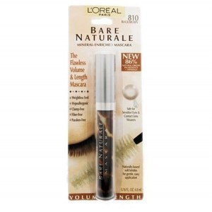 Loreal True Match Natural 810 Black Brown Mascara